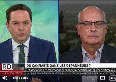 À RDI Économie - l'AMDEQ fait le point sur la vente du cannabis et réplique à Couche-Tard